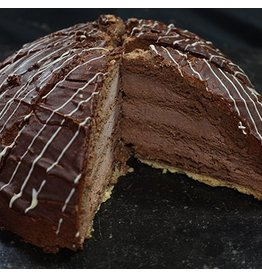 Chocolade boltaart 12 punts BAD5106