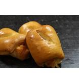 Mini ham-kaas broodjes