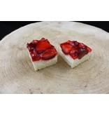 Aardbei & Yoghurt slices