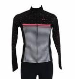 barnett Bike textile - long-sleeved jacket, black&pink, windbreaker