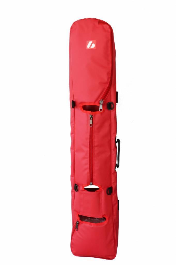 barnett SMS-05 Biathlon Rifle Bag, Size Senior , red