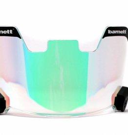 barnett Football Helmet Visor,  revo green