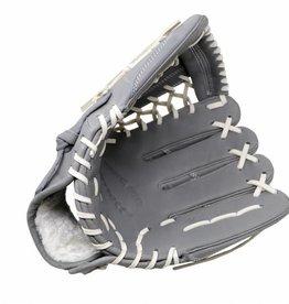 """barnett FL-125 """"högkvalitativ läderbaseballhandske, infield / outfield / pitcher, ljusgrå"""
