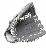 "barnett FL-127 "" high quality leather baseball glove, infield / outfield / pitcher, light grey"