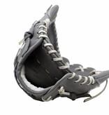 "barnett FL-127 "" high quality leather baseball glove, infield / outfield / pitcher, light grey"