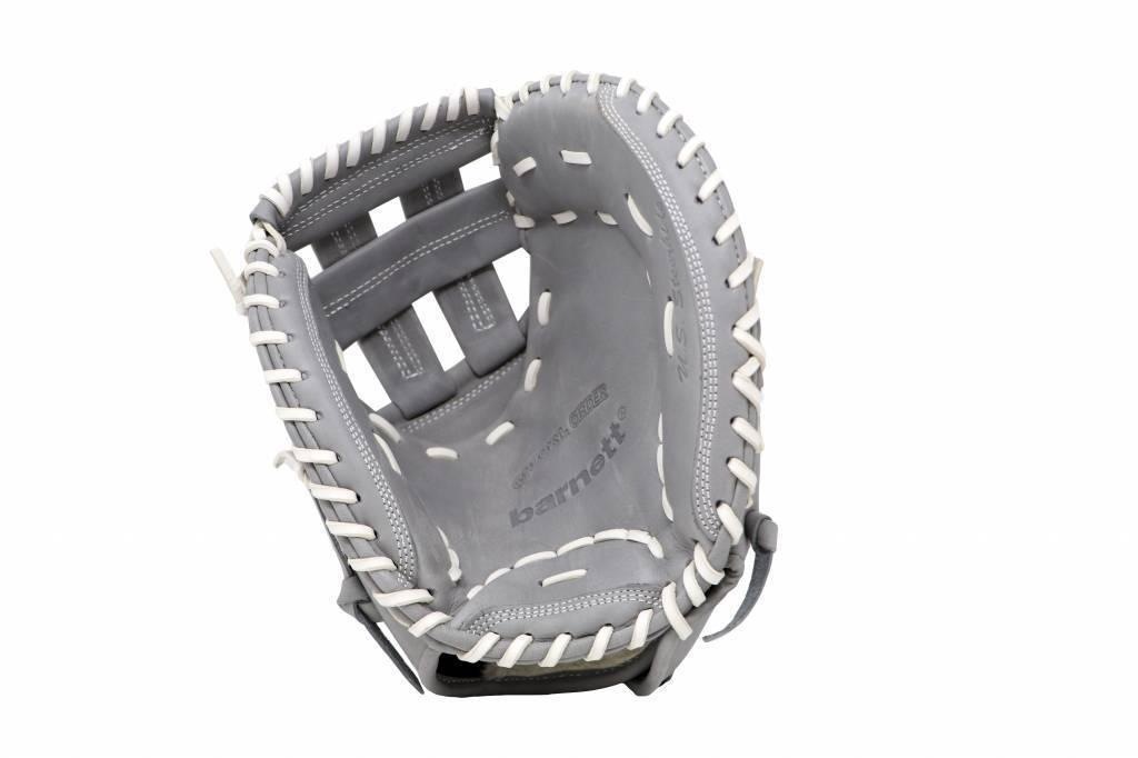 """barnett FL-201 """"baseballhandske, högkvalitativ, läder, catcher, ljusgrå"""