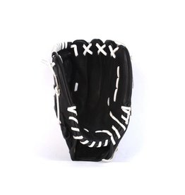 "GL-125 Competition baseball glove, 12.5"" genuine leather, outfield, Black"