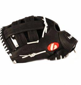 "GL-130 Baseboll Handske, Läder, 13"" (inch) Outfield, Svart"