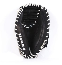 GL-203 Competition catcher baseball glove, genuine leather, adult 33'', Black
