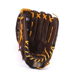 "GL-127 Competition baseball glove, 12.7"" genuine leather, outfield, Brown"