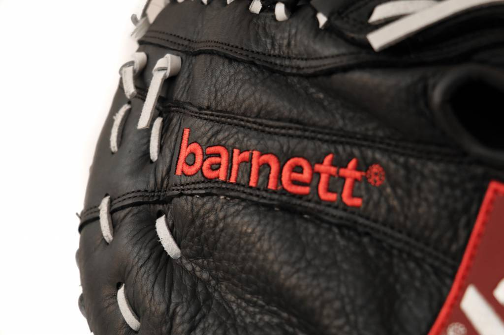 GL-301 Competition first base baseball glove, genuine leather, Black