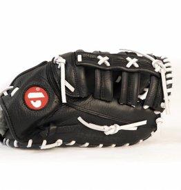GL-301 Baseboll Handske, Läder, SR First base, Svart