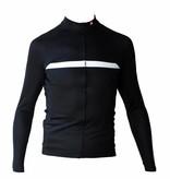 Cykel Textil - långärmad tröja, svart & vit