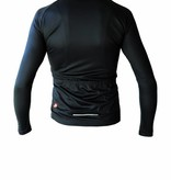 Bike textile - long sleeved Jersey, black&white
