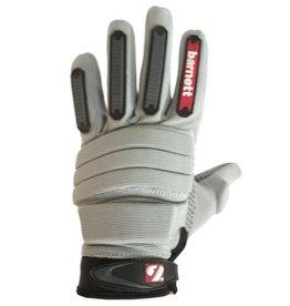 FLG-02 Handskar Linemen, ny passform OL,DL, grå
