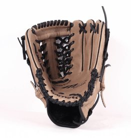 "SL-110 Baseball gloves in leather, size 11"" infield/outfield, Brown"