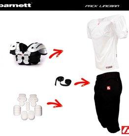barnett Pack Lineman Football set