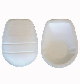 FKP-03 American Football Knee protections, Lineman, one size, White