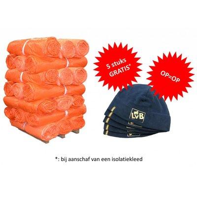 Isolatiekleden - Dubbellaags + gratis LvB Fleece mutsen