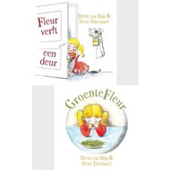 Fleur verft een deur & GroenteFleur - Ditte van Dijk & Otto Treurniet