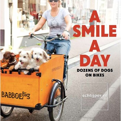 A smile a day. Dozens of Dogs on Bicycles. - Thomas Schlijper