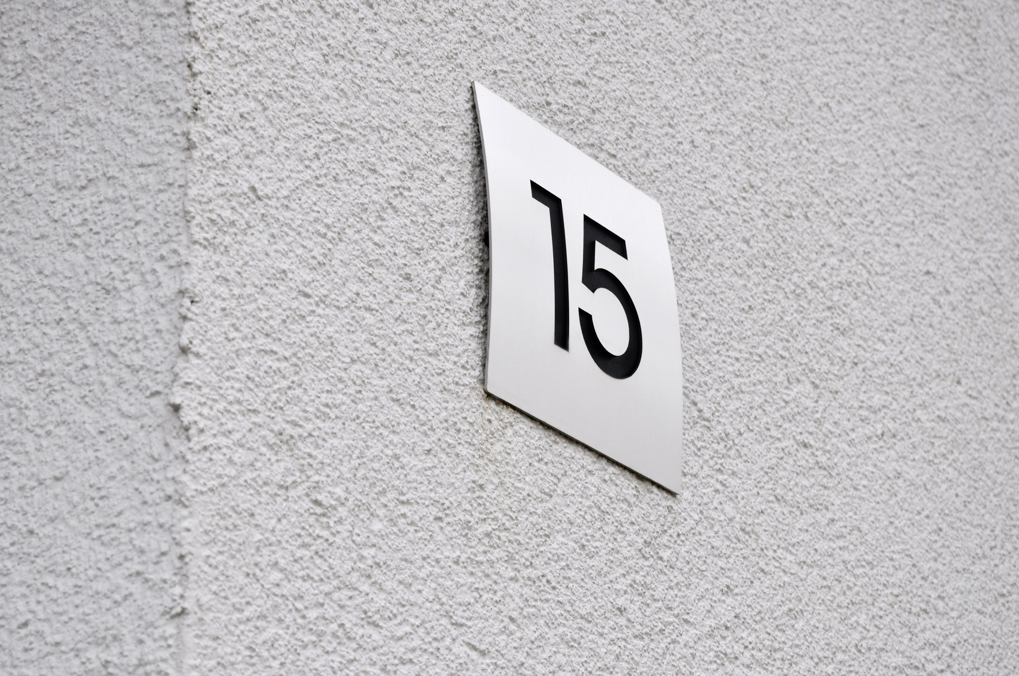 KNOBLOCH Hausnummer SOHO