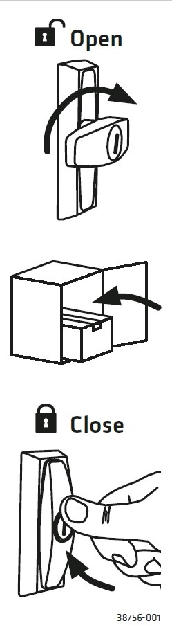KNOBLOCH Paketschloss Cleverlock C023