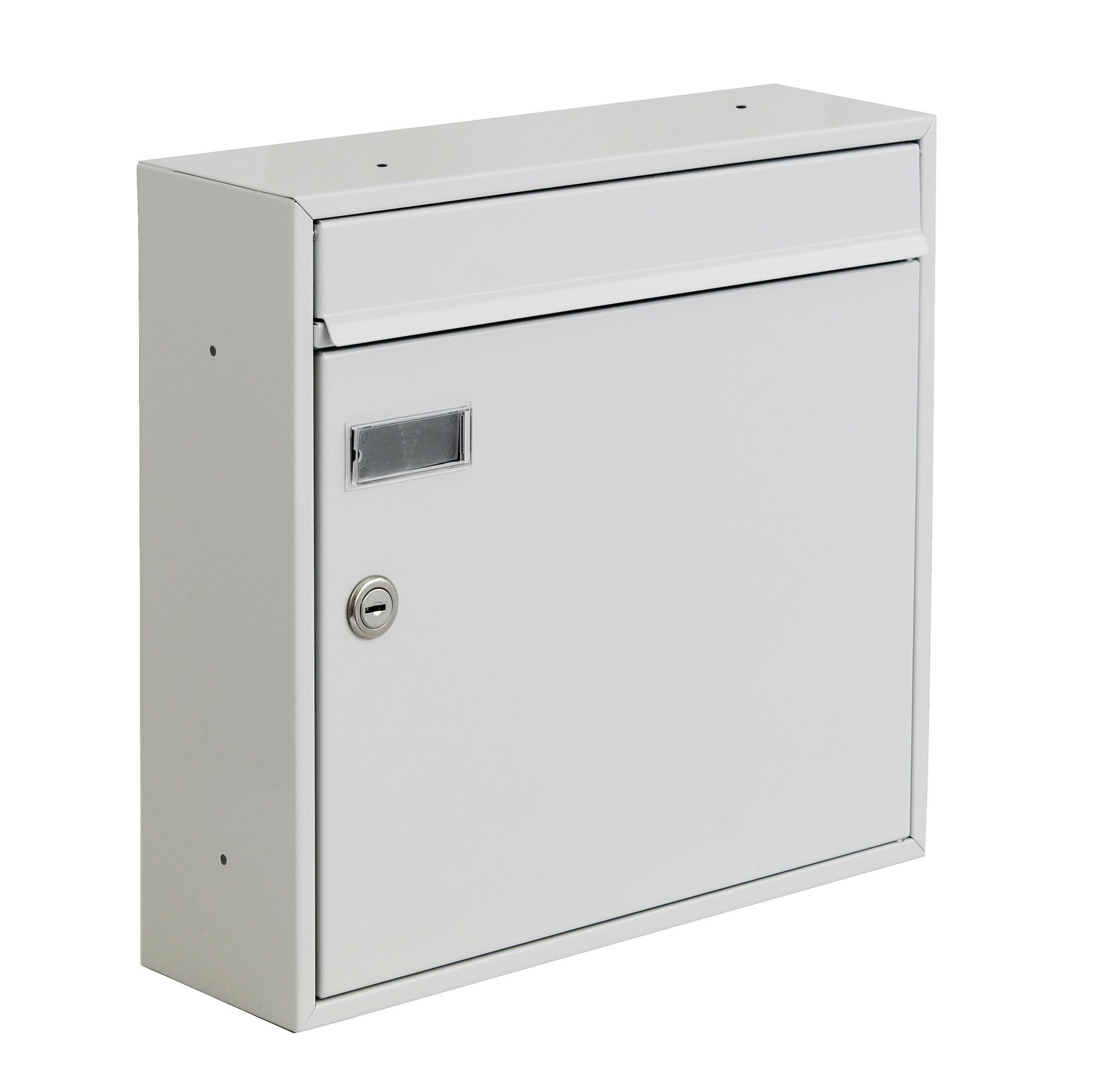 KNOBLOCH Briefkasten MEMPHIS mit Batterielochung