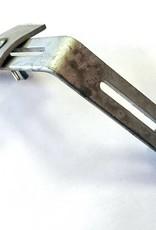 Feyts Golfplaatbeugelklem voor renovatie of muurbeugels ( golfplaatbevestiger)