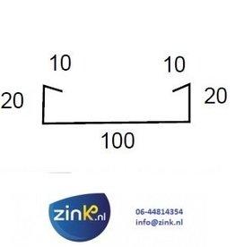 Feyts verholen goot zink 0,8 (type 2) - 3 mtr