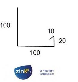 Feyts verholen goot zink 0,8 (type 1) - 3 mtr