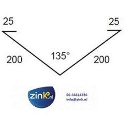 Feyts kilgoot zink 0,8 - 3 mtr