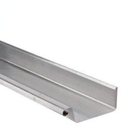 VMZINC zinken dakgoot vierkant 120 mm 0,8  - 1 meter