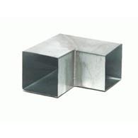 Feyts Zinken bocht vierkant 100x100 mm - 90° (87°)