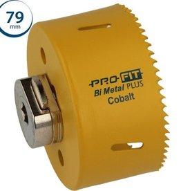Pro-Fit gatenboor 79 mm  incl. centreerboor