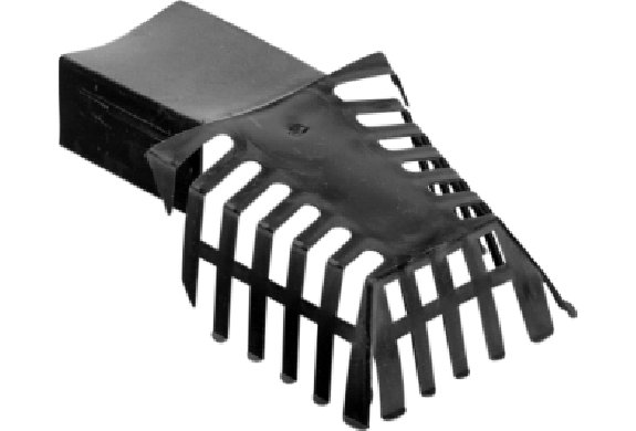 Feyts PE bladvanger 6x8 Zwart