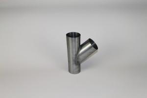 Feyts Zinken t-stuk 80 mm - 45°