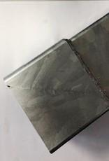 Feyts staal verzinkte ondereind voor regenpijp 100x100 mm - 2 mtr