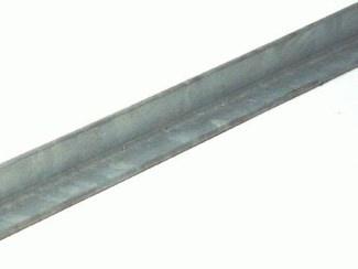 Feyts hoeklijn zonder slobgat  lengte 3 mtr (incl 5x tapboutje)
