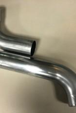 Feyts zinken overstek/schuifbocht 100 mm ( 72°)