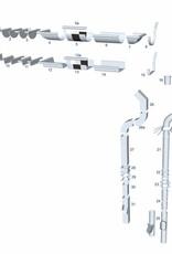 Feyts Schroefstift M8 - 120 mm regenpijpbeugels met draad - Copy
