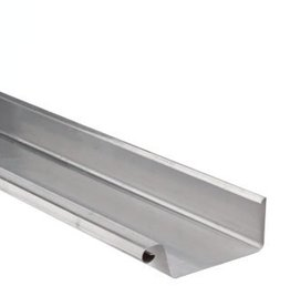 VMZINC zinken dakgoot vierkant 210 mm 0,8  - 3 meter
