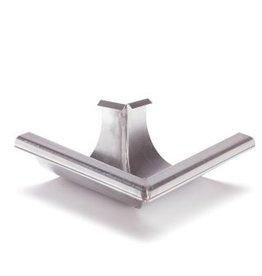 Feyts buitenhoek goot 90º rond 200 mm zink