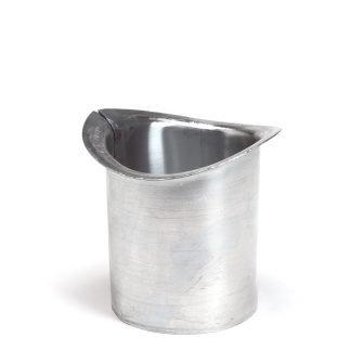 Feyts zinken uitloop ovaal 80 mm - 100 mm