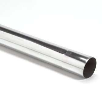 Feyts zinken regenpijp 80 mm - 1 mtr