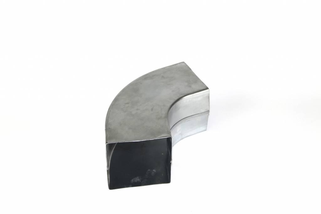 Feyts Zinken bocht vierkant # 80x80 mm - 72°