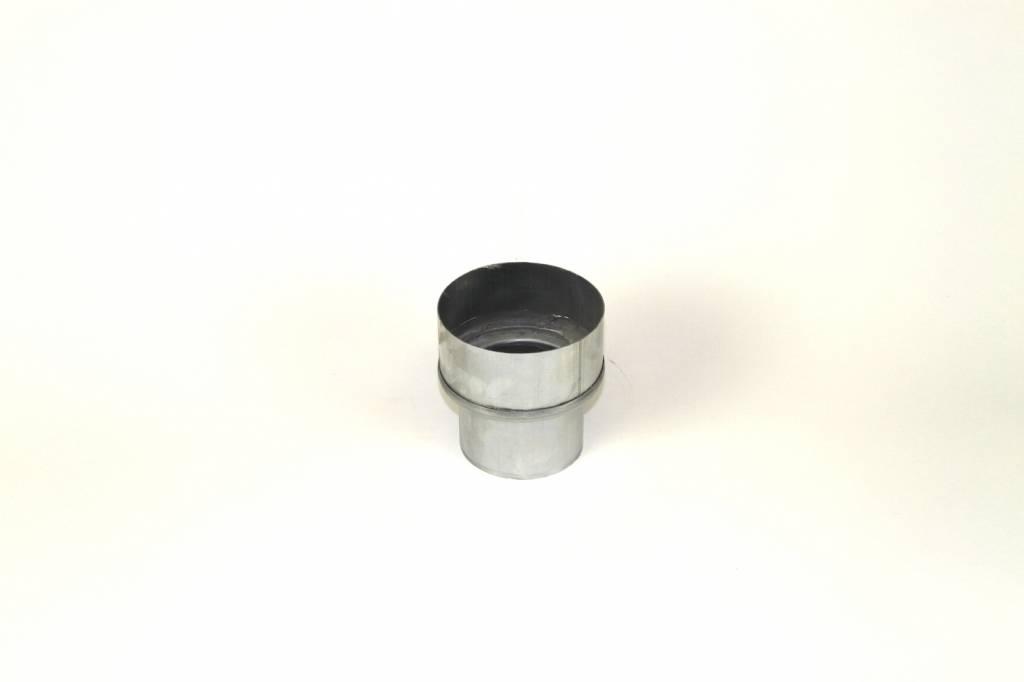 Feyts Zinken verloopstuk rond 100 - rond 80 mm