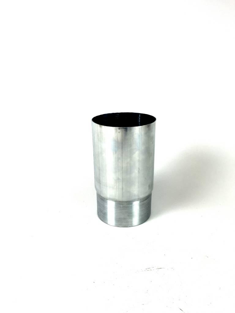 Feyts Verlengde zinken verbindingsmof 80 mm