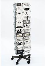 Zoedt Grote kaartenmolen  met  72 vakken