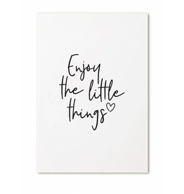 Zoedt Kaartje Enjoy the little things